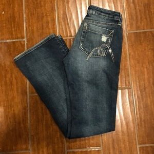 Mavi jeans special addition distressed crystal